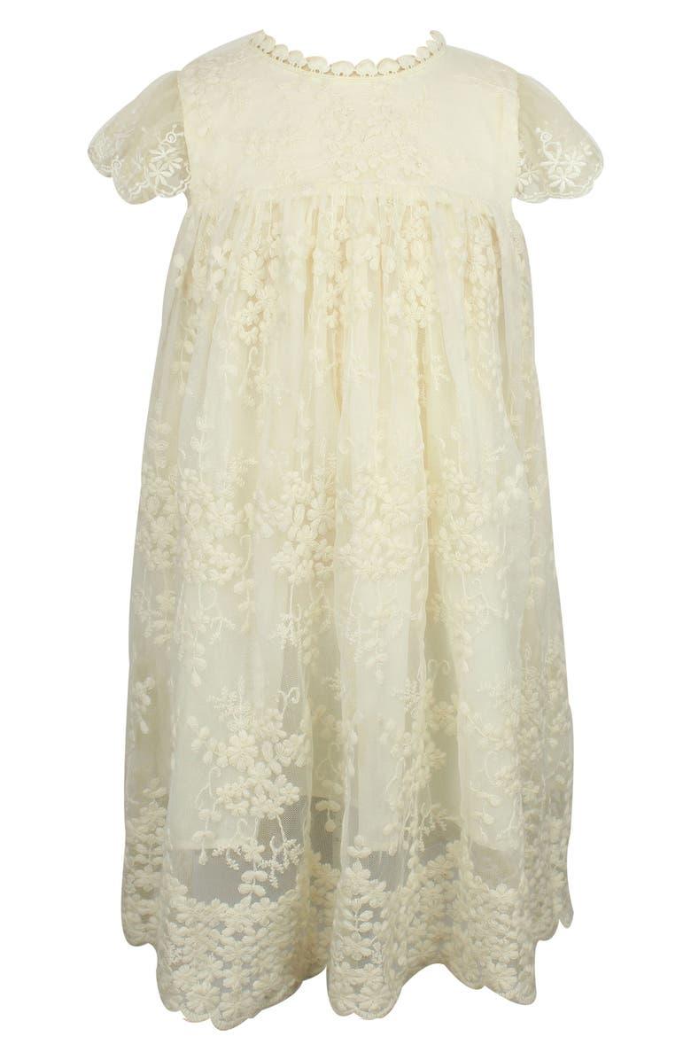 POPATU Lace Dress, Main, color, IVORY
