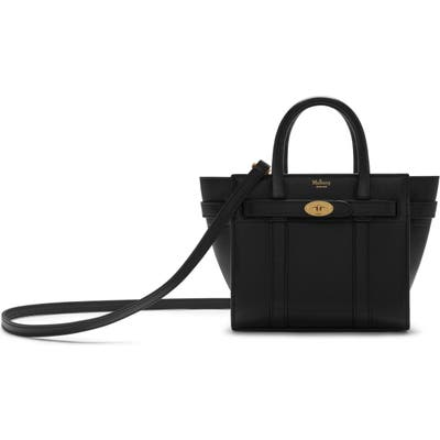 Mulberry Micro Bayswater Leather Satchel -