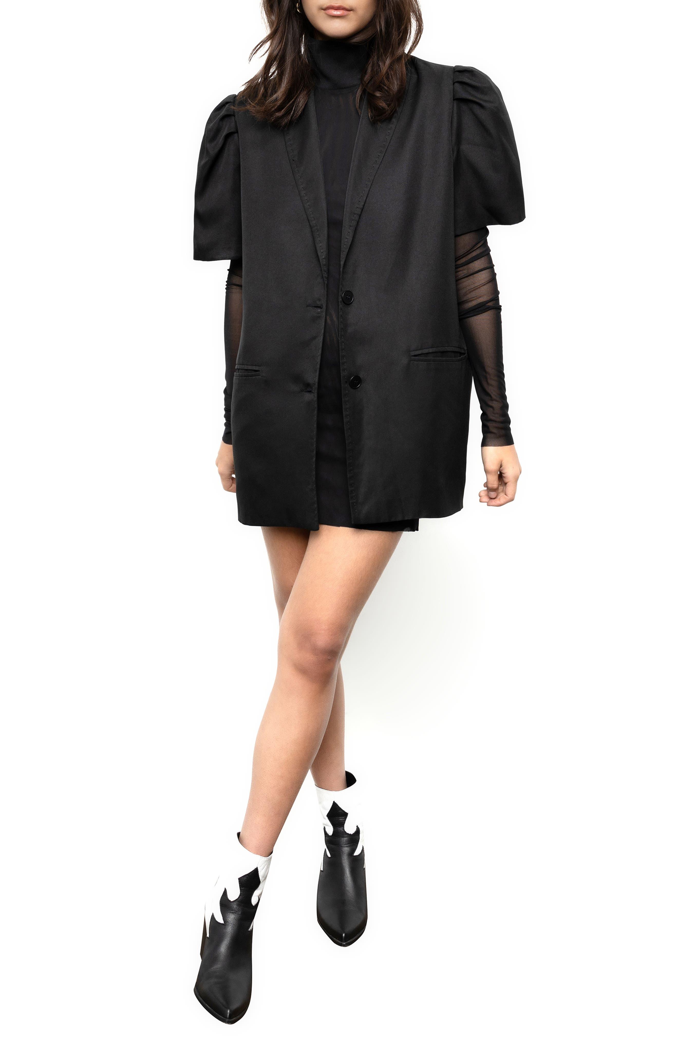 Hekla Oversize Short Sleeve Jacket