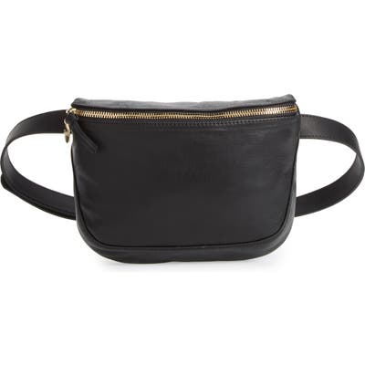 Clare V. Leather Fanny Pack - Black