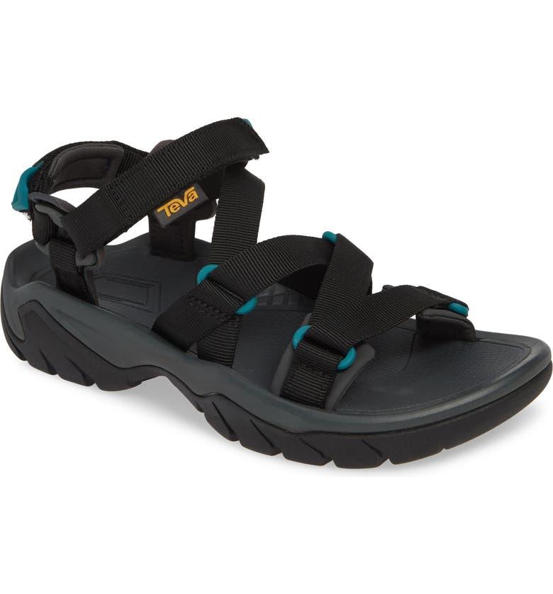 TEVA Terra Fi 5 Sport Sandal, Main, color, BLACK FABRIC