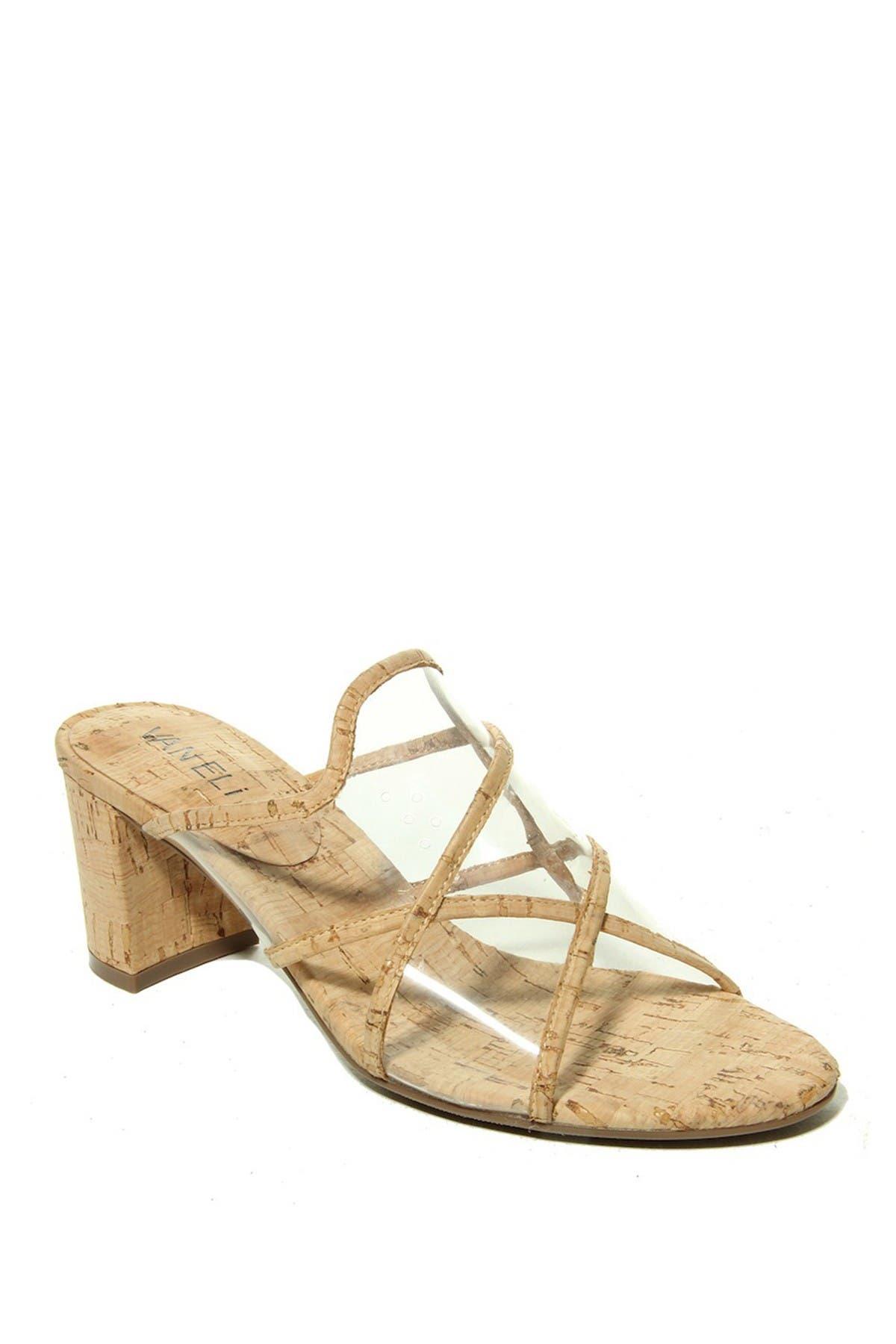 Image of VANELi Maynor Cork Block Heel Sandal - Multiple Widths Available