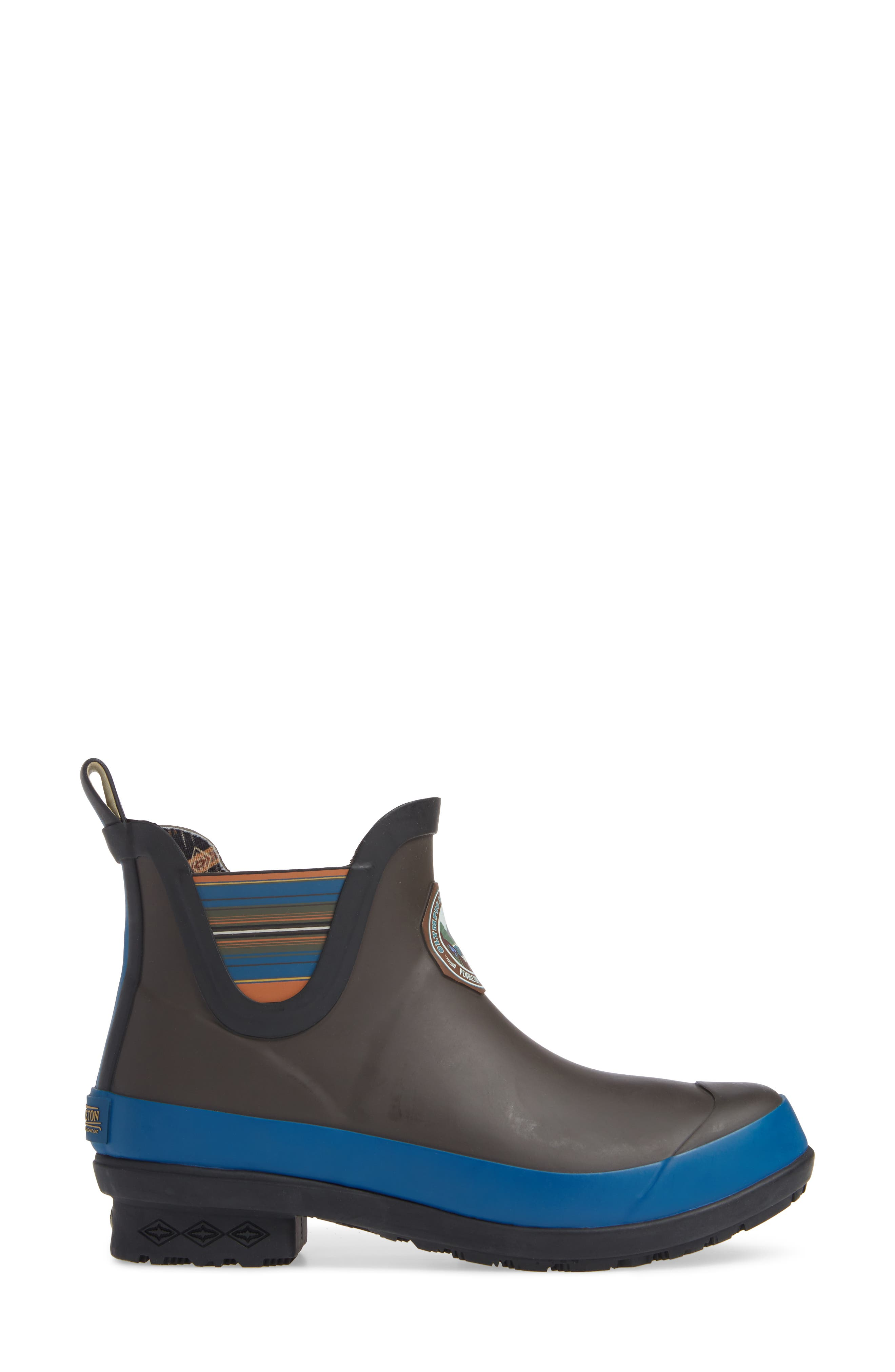 ,                             Olympic National Park Chelsea Bootie,                             Alternate thumbnail 3, color,                             GREY RUBBER