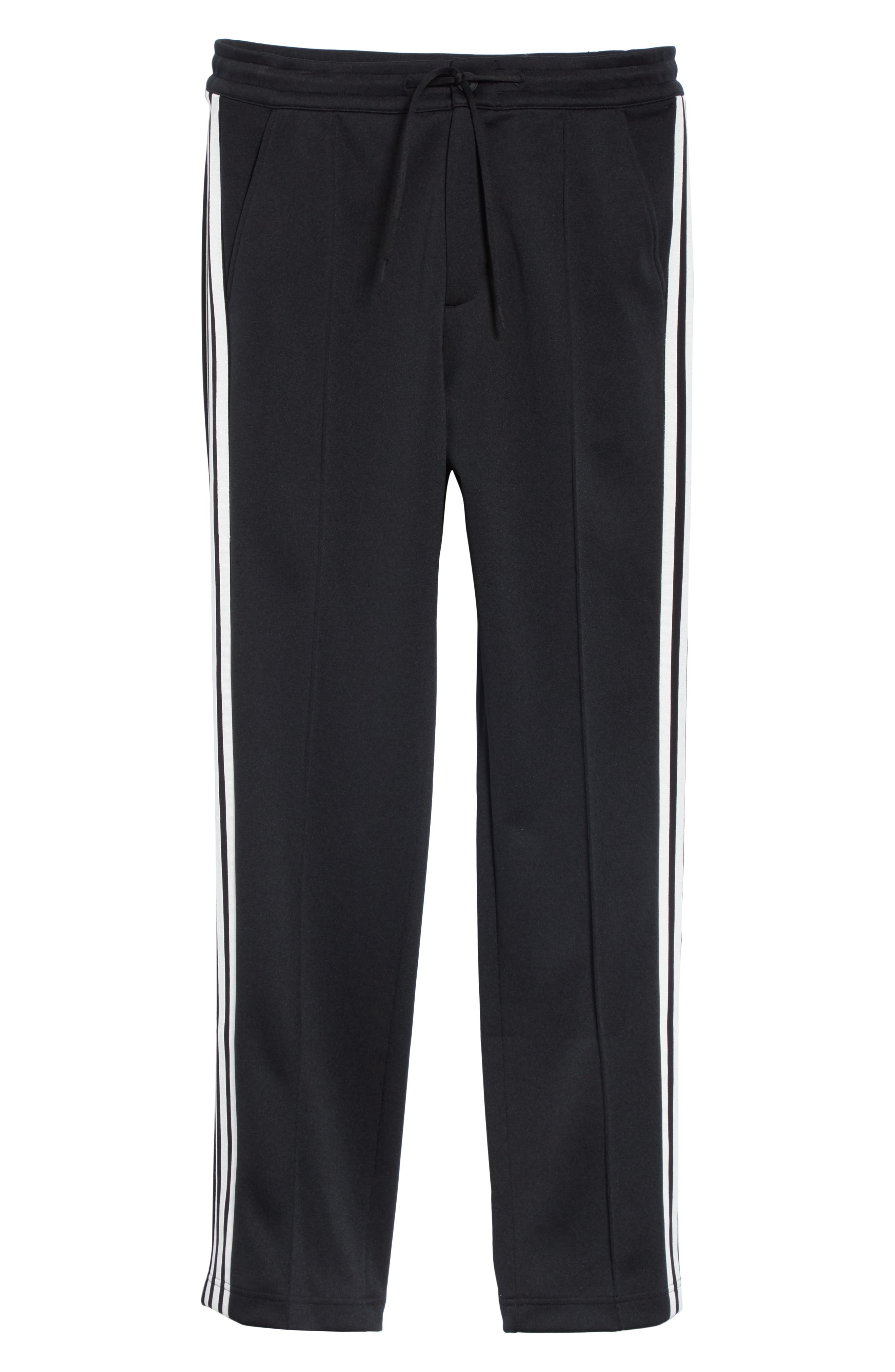 ,                             x adidas 3-Stripes Track Pants,                             Alternate thumbnail 6, color,                             BLACK