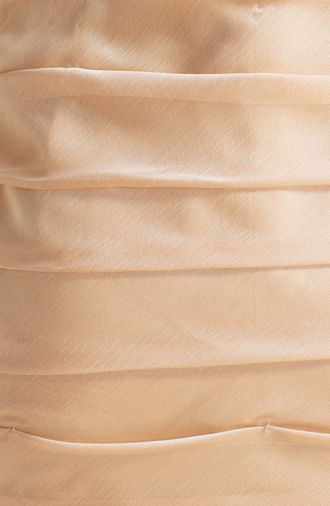,                             Ruched Strapless Cationic Chiffon Dress,                             Alternate thumbnail 25, color,                             289