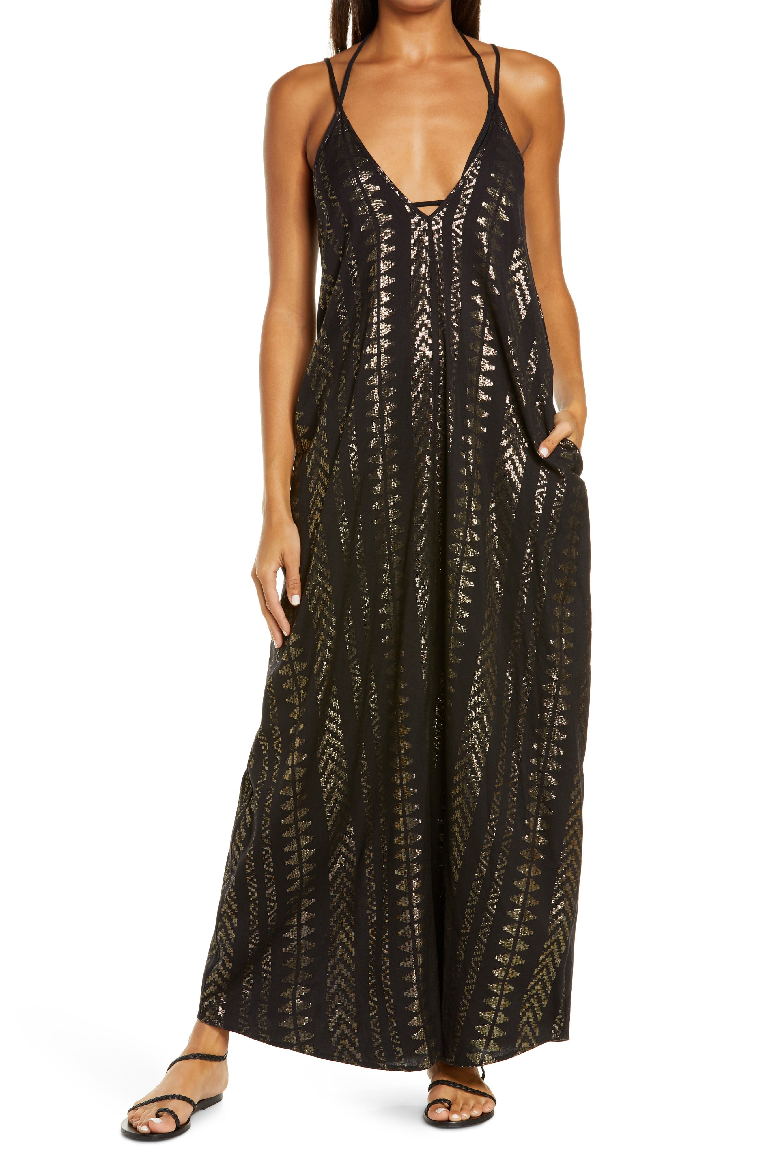 Cover-Up Maxi Slipdress