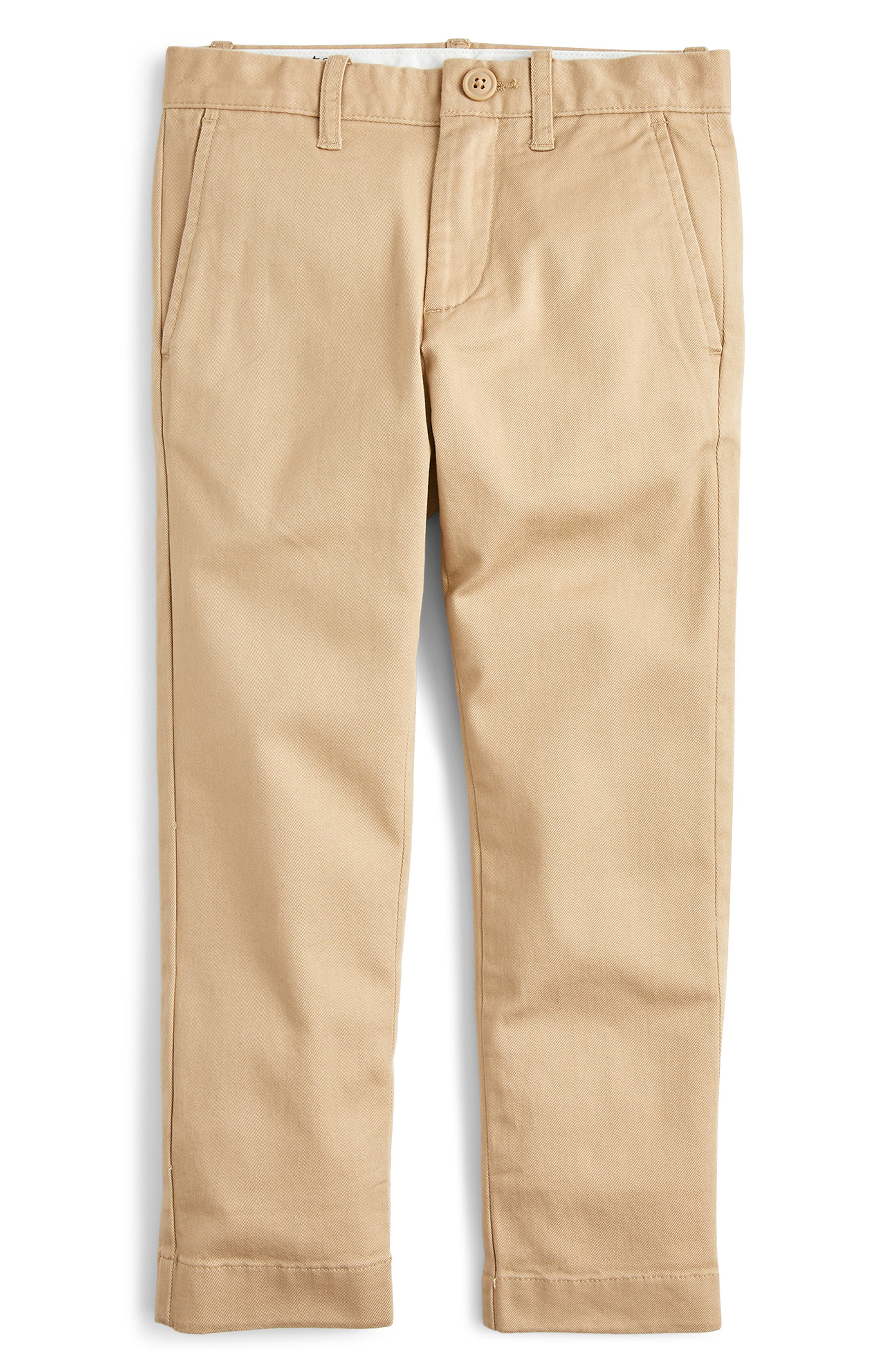 Boys Crewcuts By Jcrew Chino Pants Size 16  Brown