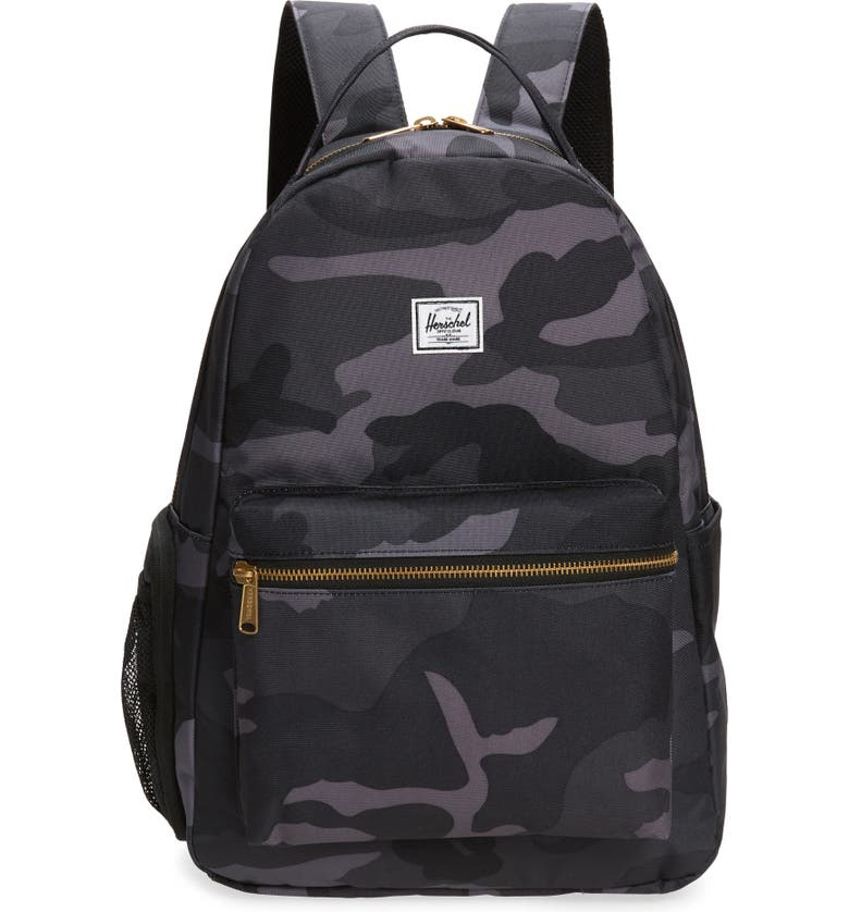 HERSCHEL SUPPLY CO. Nova Sprout Diaper Backpack, Main, color, NIGHT CAMO