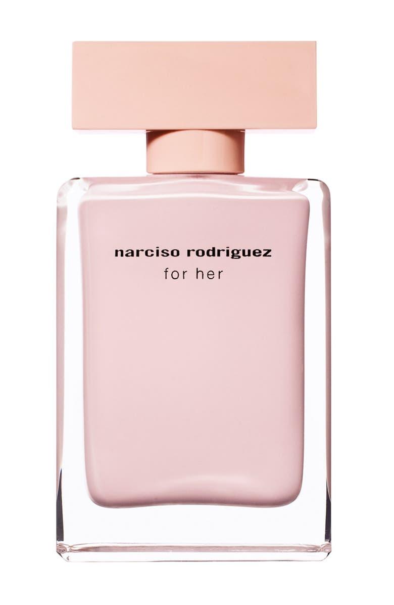 NARCISO RODRIGUEZ For Her Eau de Parfum, Main, color, NO COLOR