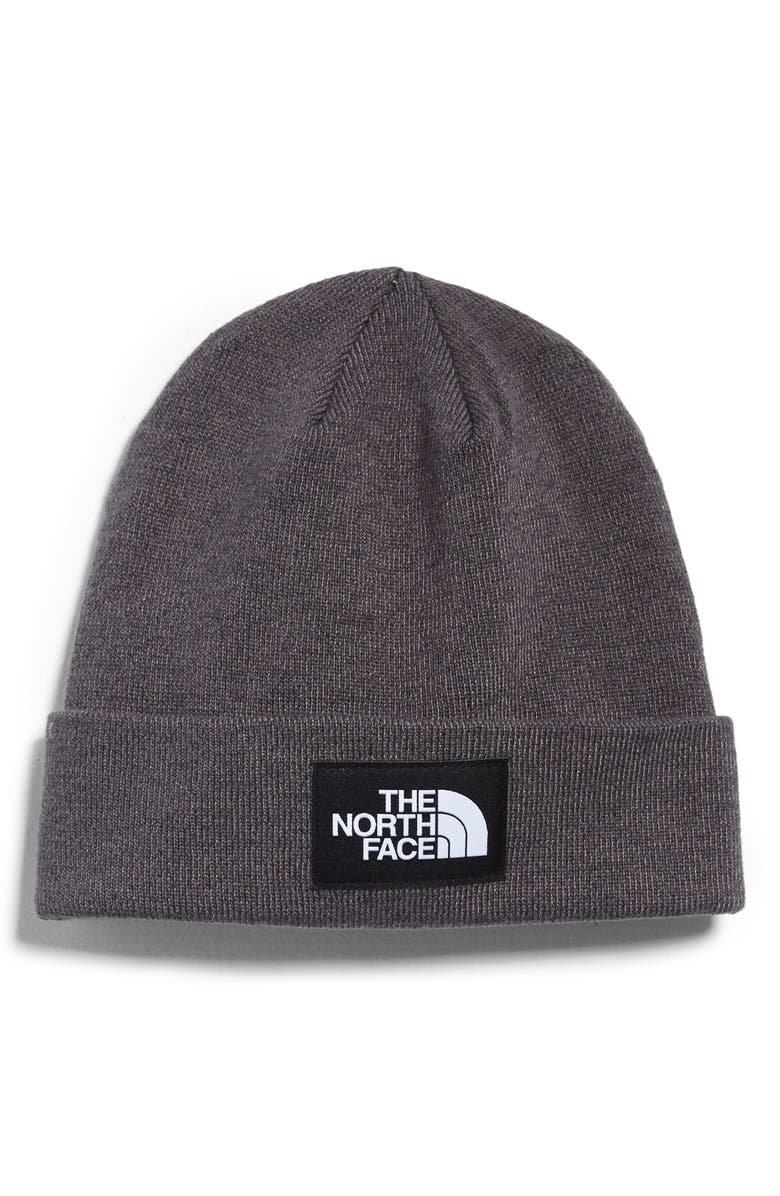THE NORTH FACE Dock Worker Recycled Beanie, Main, color, TNF DARK GREY HEATHER