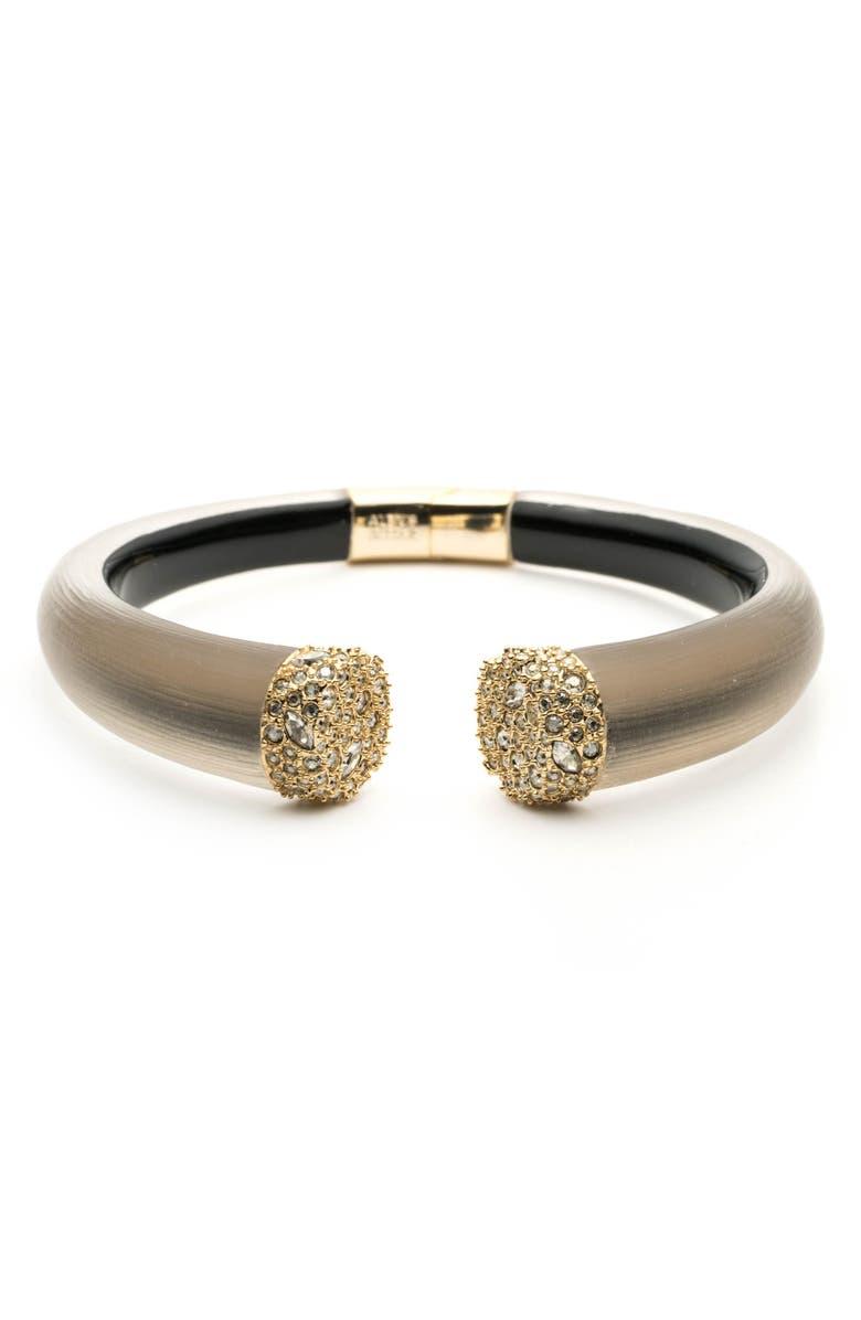 ALEXIS BITTAR Encrusted Pavé Hinge Bracelet, Main, color, 020