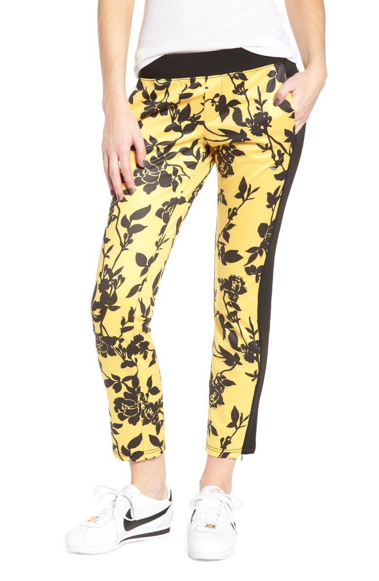 PAM & GELA Crop Track Pants, Main, color, 703