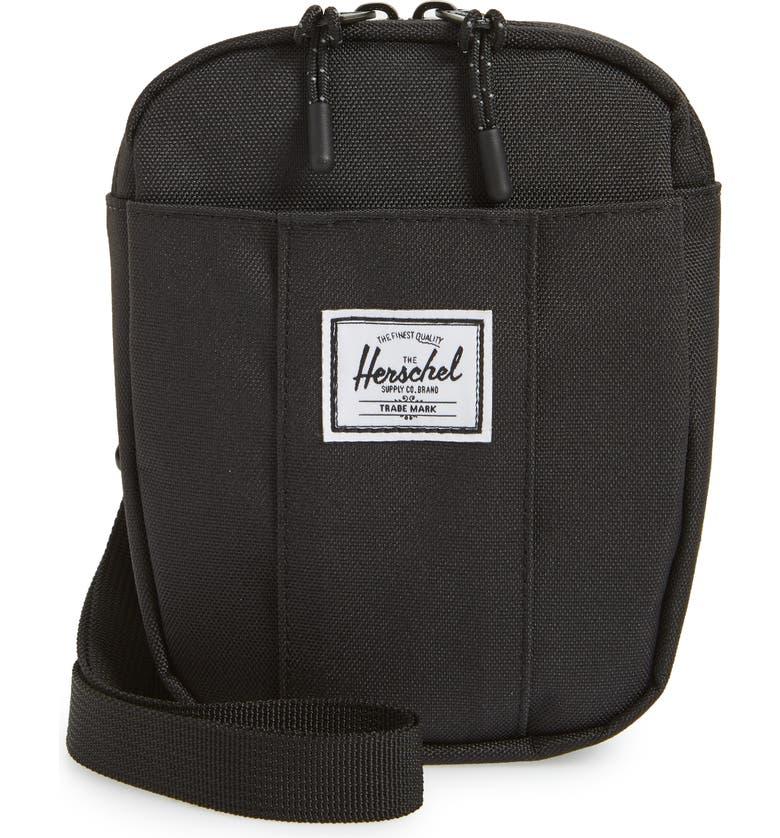 HERSCHEL SUPPLY CO. Cruz Crossbody Bag, Main, color, BLACK