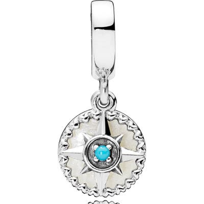 Pandora Compass Rose Dangle Charm