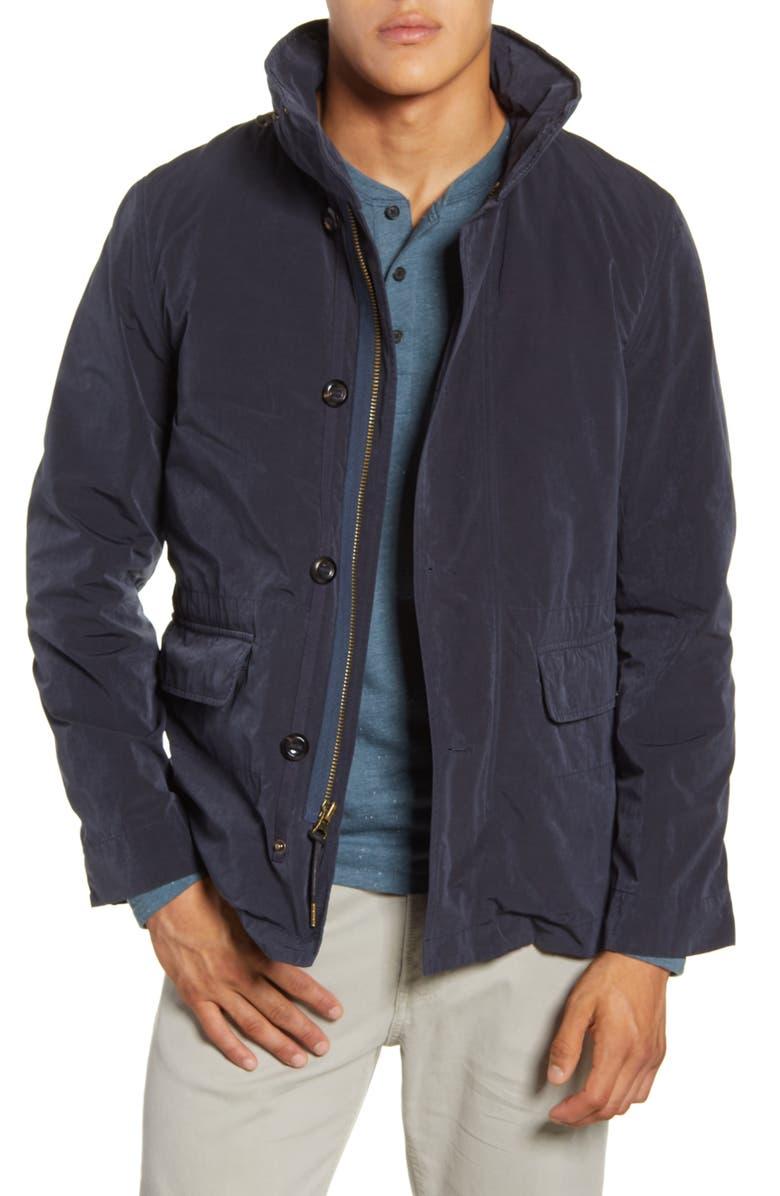 BILLY REID Water Resistant Hooded Down Field Jacket, Main, color, 410