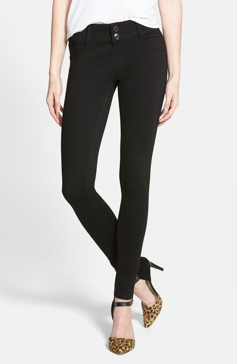JOLT Ponte Skinny Leggings, Main, color, 002