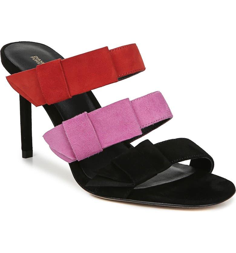 Diane Von Furstenberg Amari Triple Strap Sandal Women