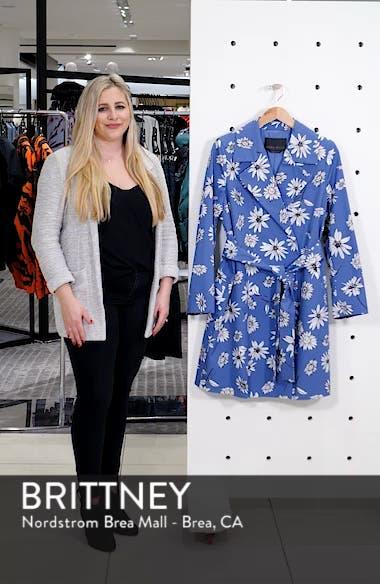 Troupe Floral Print Raincoat, sales video thumbnail