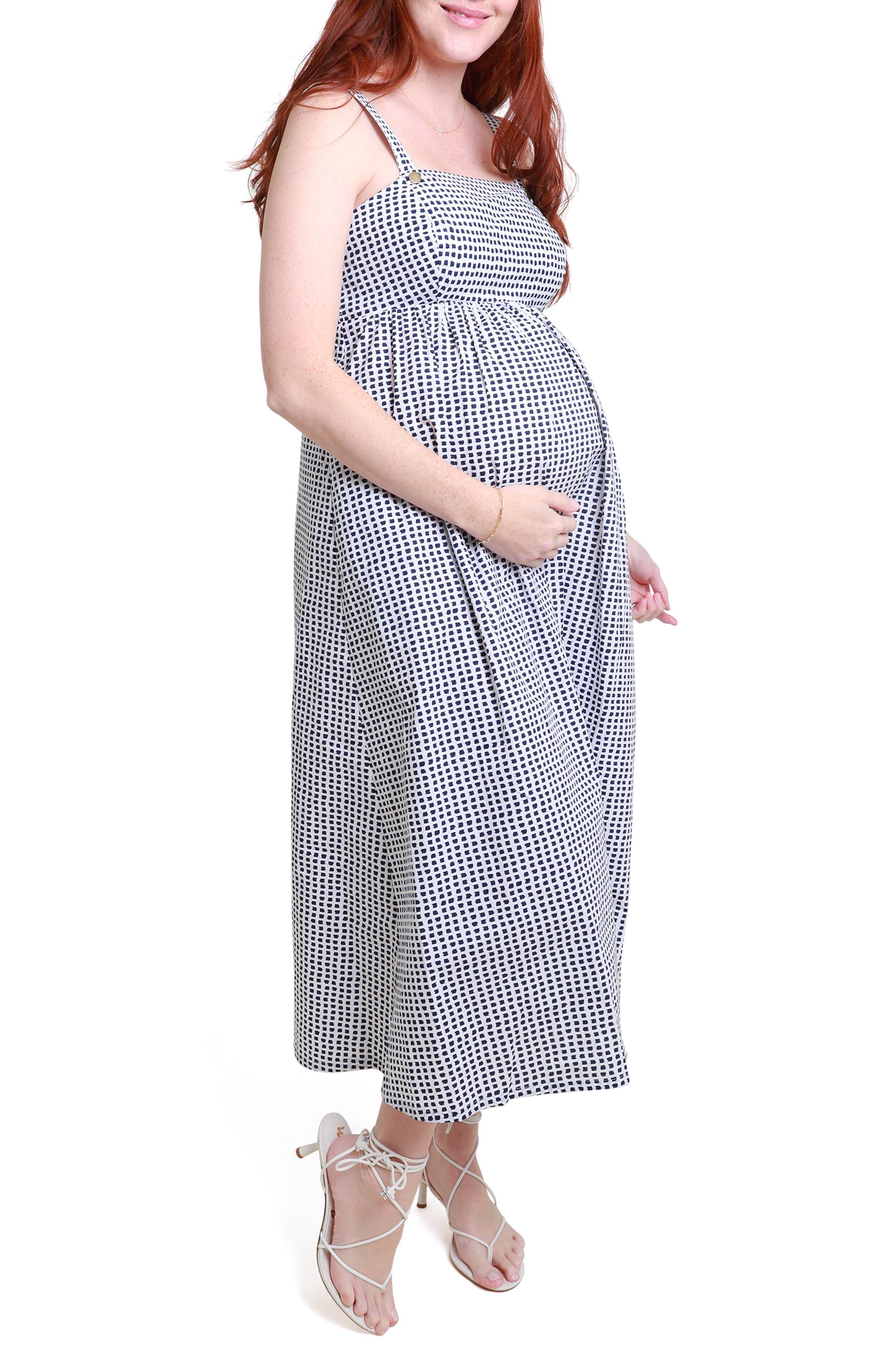 Women's Ingird & Isabel Print Maternity/nursing Sundress