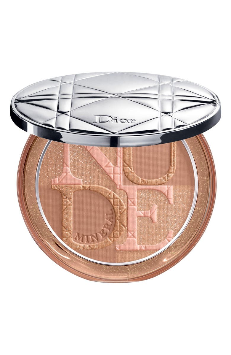 DIOR Diorskin Mineral Nude Bronze Powder, Main, color, 002 SOFT SUNLIGHT