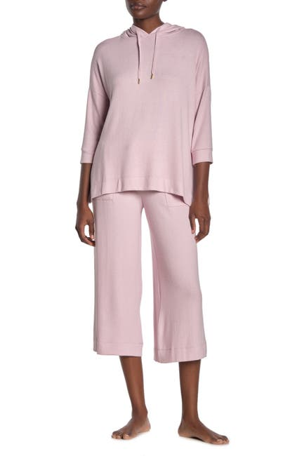 Image of Donna Karan Cropped Lounge Pants