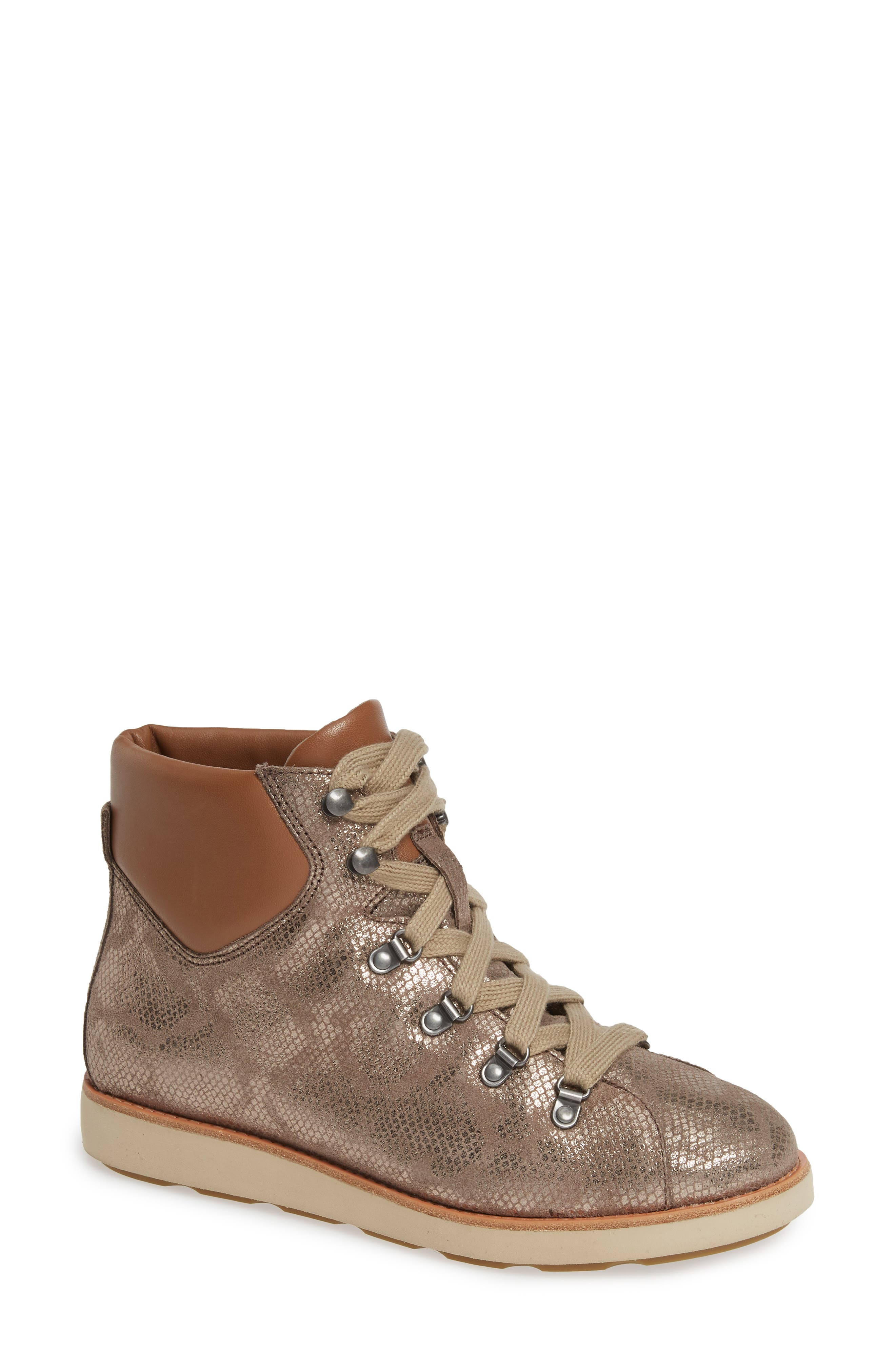 Bionica Natick Lace-Up Boot, Brown