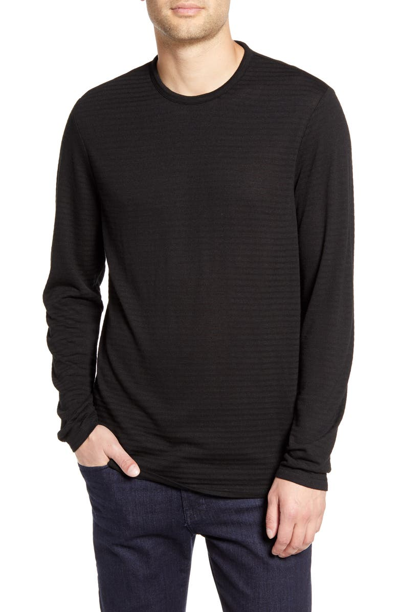 Calibrate Trim Fit Stripe Long Sleeve T Shirt