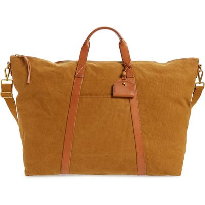 Madewell Canvas Overnight Bag - Brown