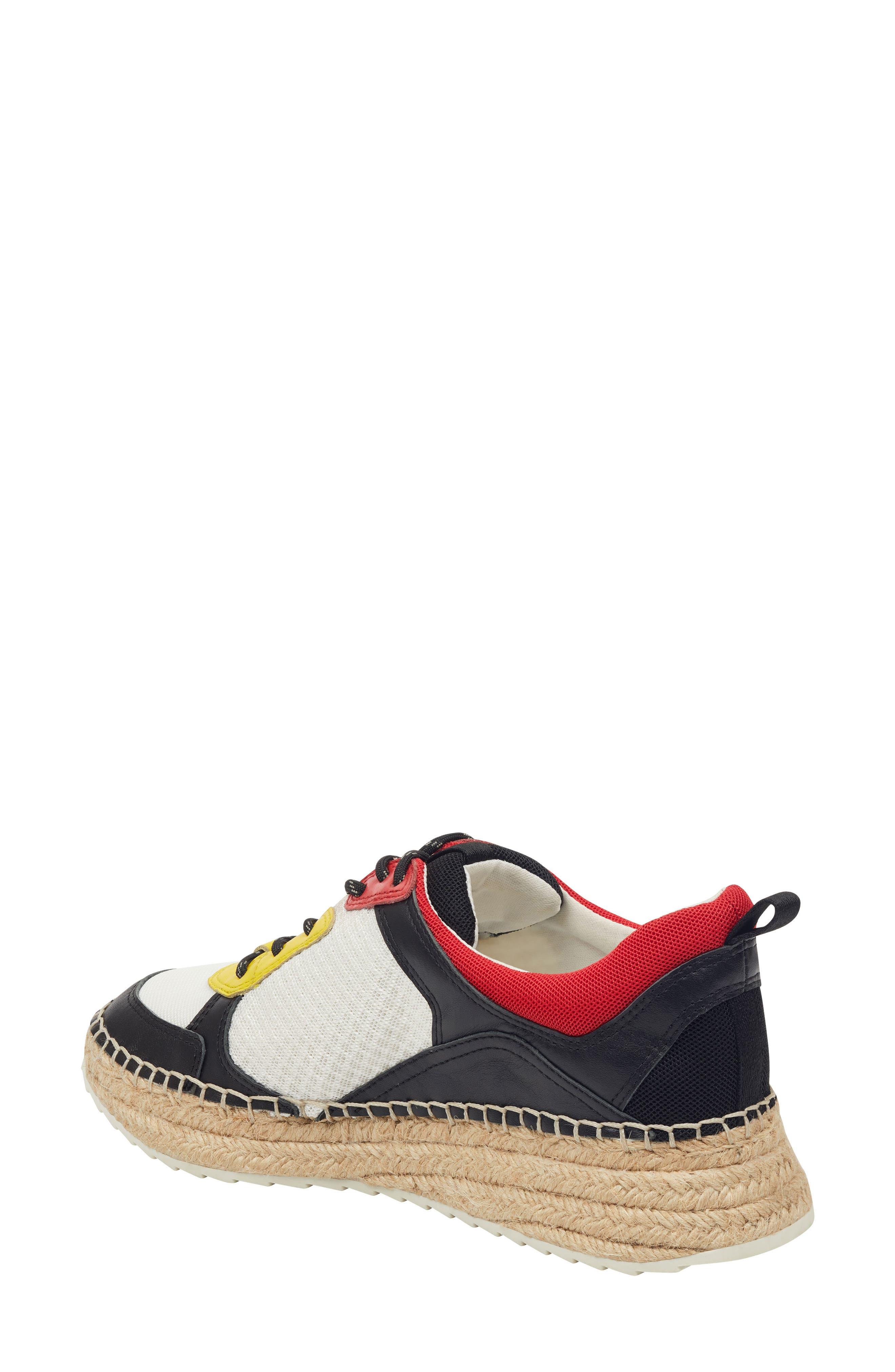 ,                             Janette Espadrille Sneaker,                             Alternate thumbnail 2, color,                             001