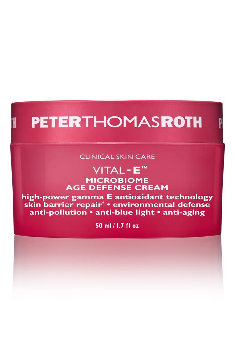 PETER THOMAS ROTH Vital-E Microbiome Age Defense Cream, Main, color, NO COLOR