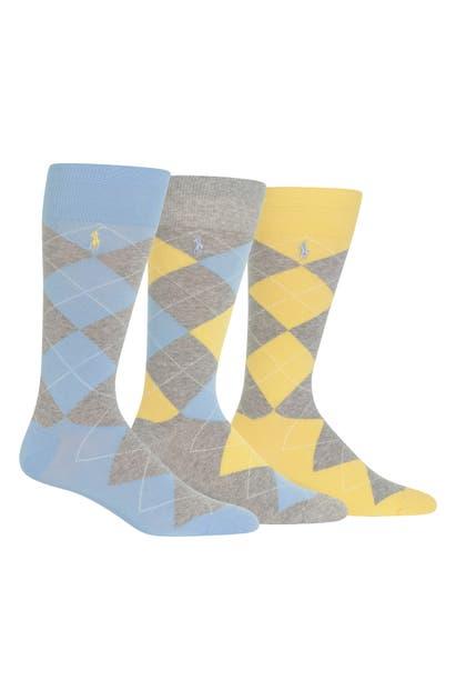 Polo Ralph Lauren Underwear-socks 3-PACK ARGYLE SOCKS