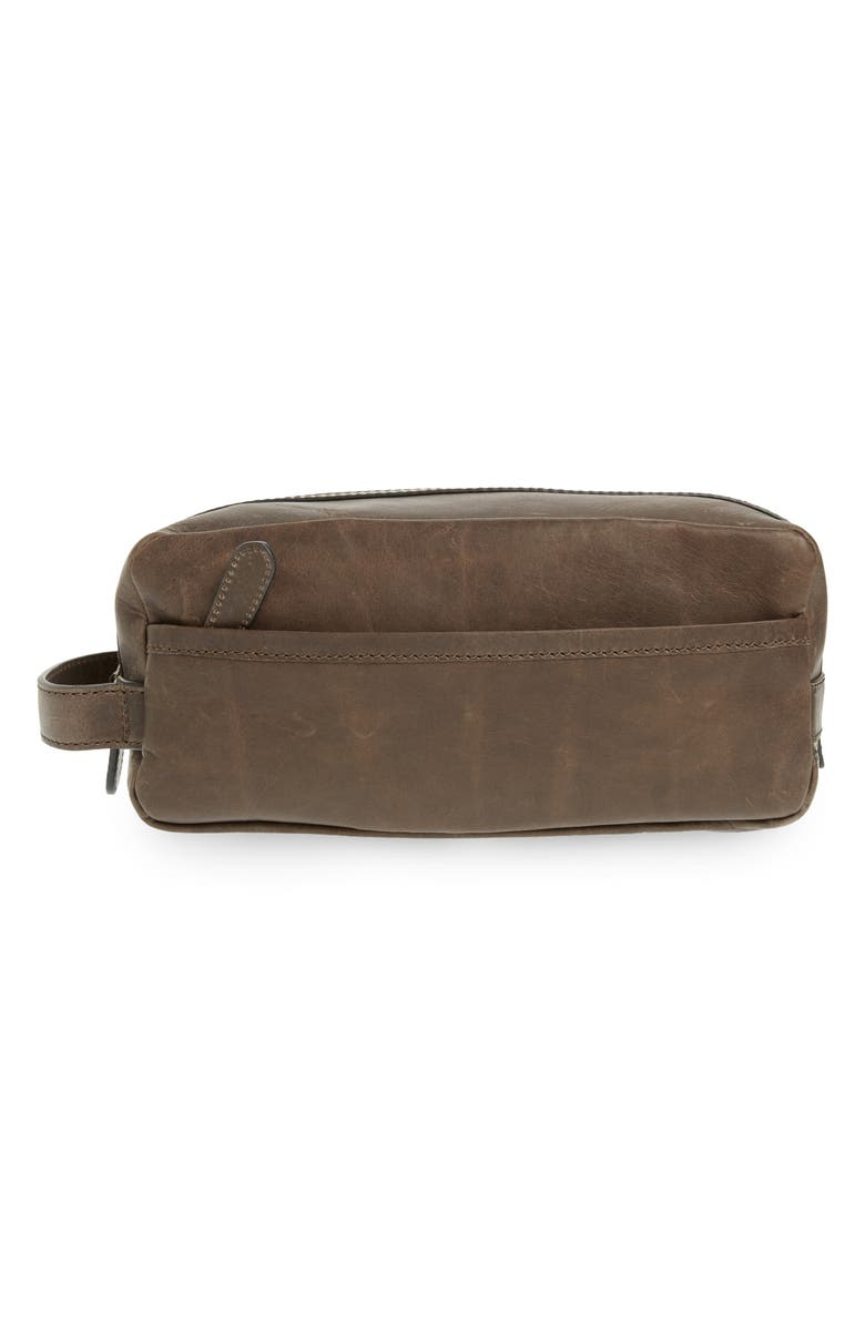 FRYE 'Logan' Leather Travel Kit, Main, color, 041