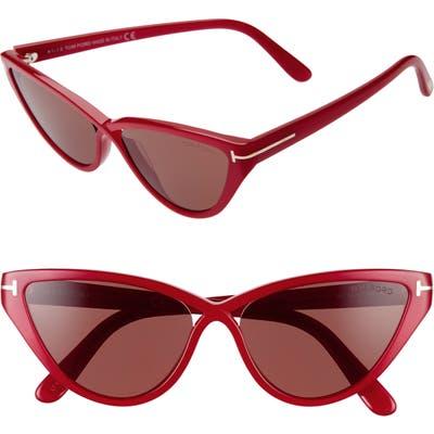 Tom Ford Charlie 55Mm Cat Eye Sunglasses -