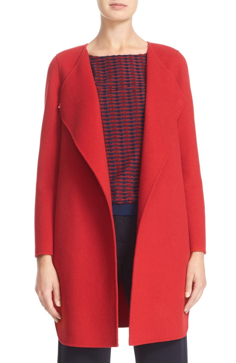 87dfbfd04c92 Armani Collezioni Double Face Wool & Cashmere Coat | Nordstrom