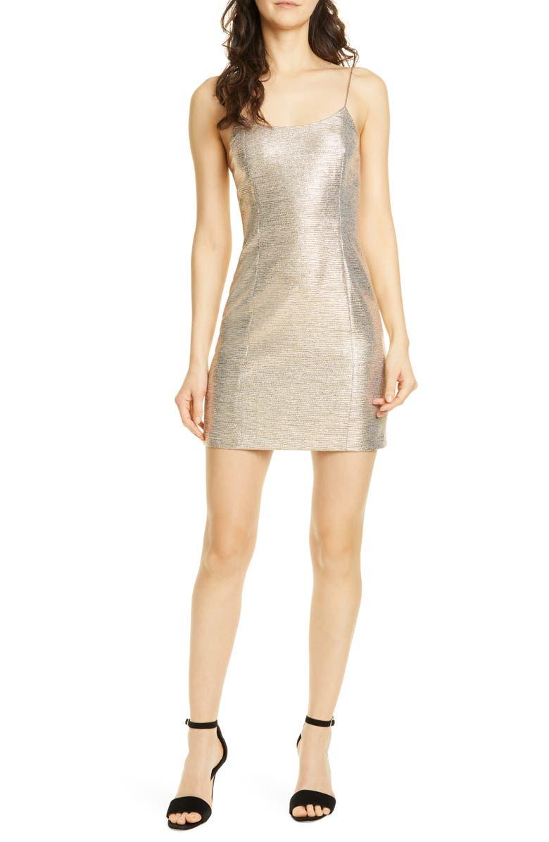 ALICE + OLIVIA Nelle Minidress, Main, color, 710