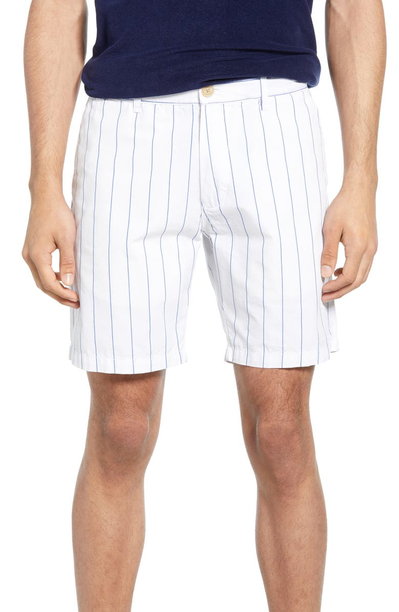 SCOTCH & SODA Stripe Chino Shorts, Main, color, 101