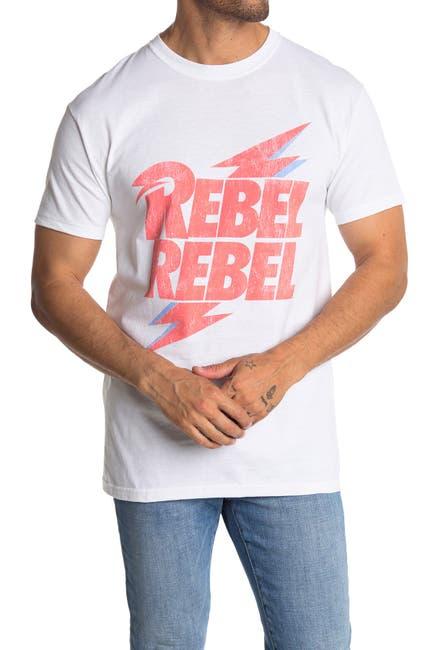 Image of Philcos David Bowie Rebel Rebel Graphic T-Shirt