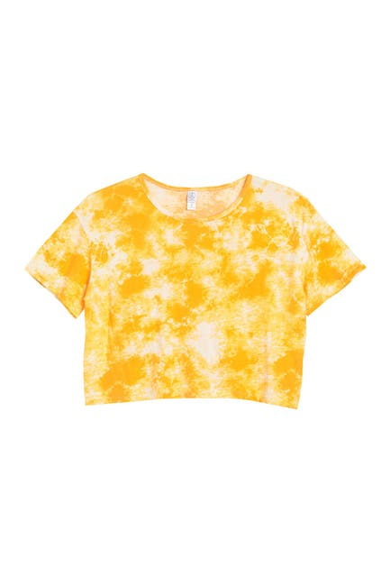 Image of Alternative Short Sleeve Lounge Crop Top