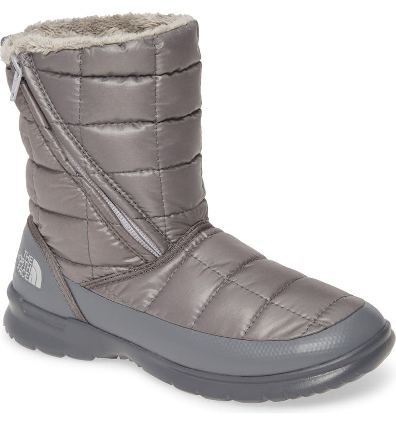 THE NORTH FACE ThermoBall<sup>™</sup> Microbaffle Boot, Main, color, ZINC GREY/ MICRO GREY FABRIC