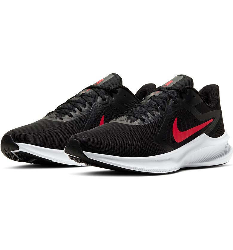 NIKE Downshifter Lightweight Athletic Sneaker, Main, color, 006 BLACK/UNVRED