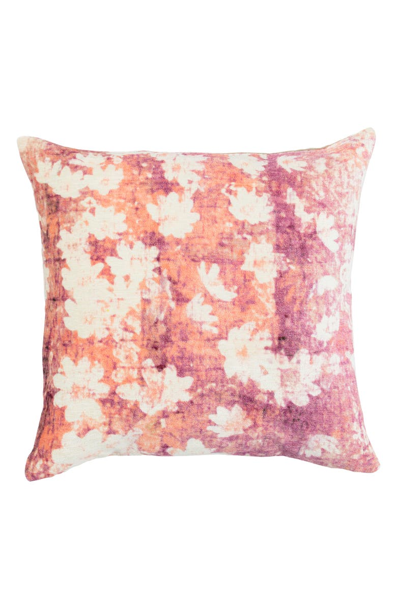 VILLA HOME COLLECTION Tessa Accent Pillow, Main, color, BERRY / ORANGE