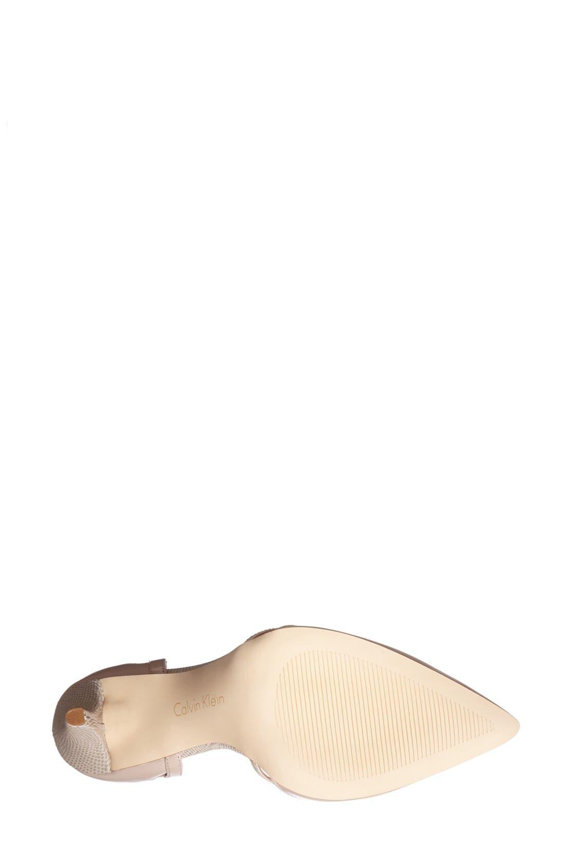 ,                             'Gilia' Cutout Leather d'Orsay Pump,                             Alternate thumbnail 10, color,                             252