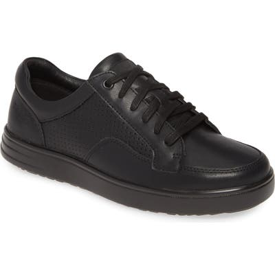 Alegria Baseq Traq(TM) Low Top Sneaker, Black