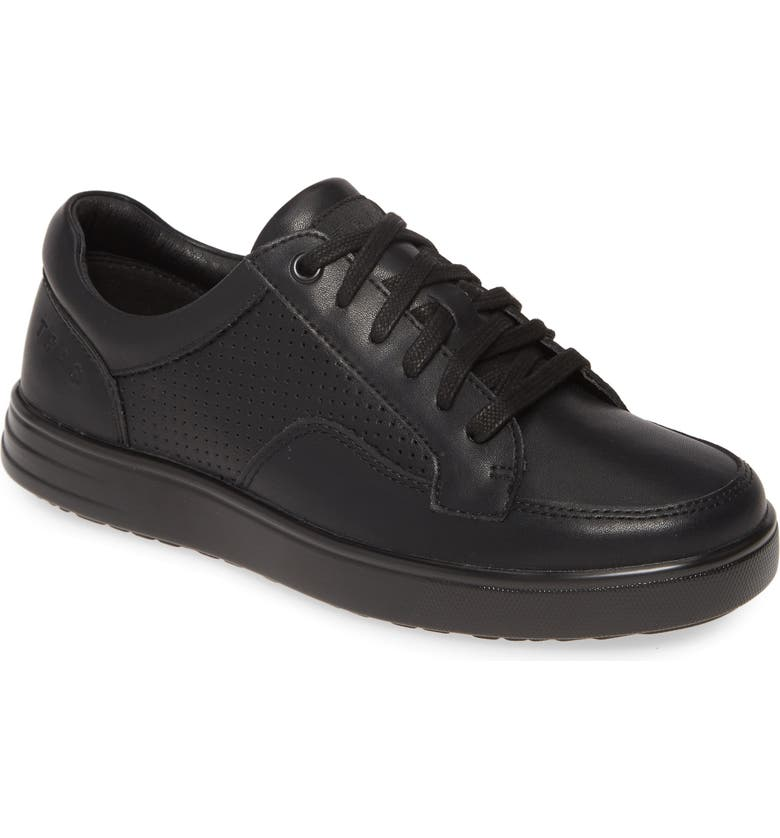 TRAQ BY ALEGRIA Alegria Baseq TRAQ<sup>™</sup> Low Top Sneaker, Main, color, BLACK LEATHER