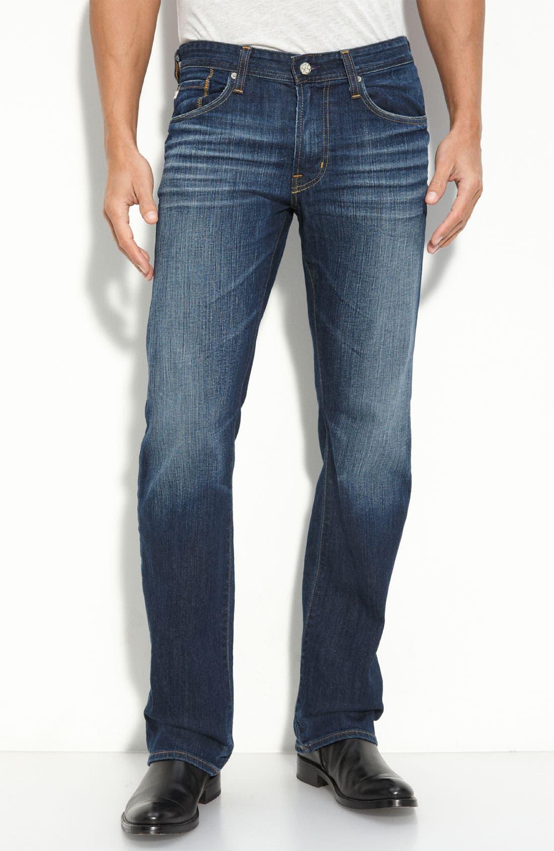 ,                             'Protégé' Straight Leg Jeans,                             Main thumbnail 44, color,                             461