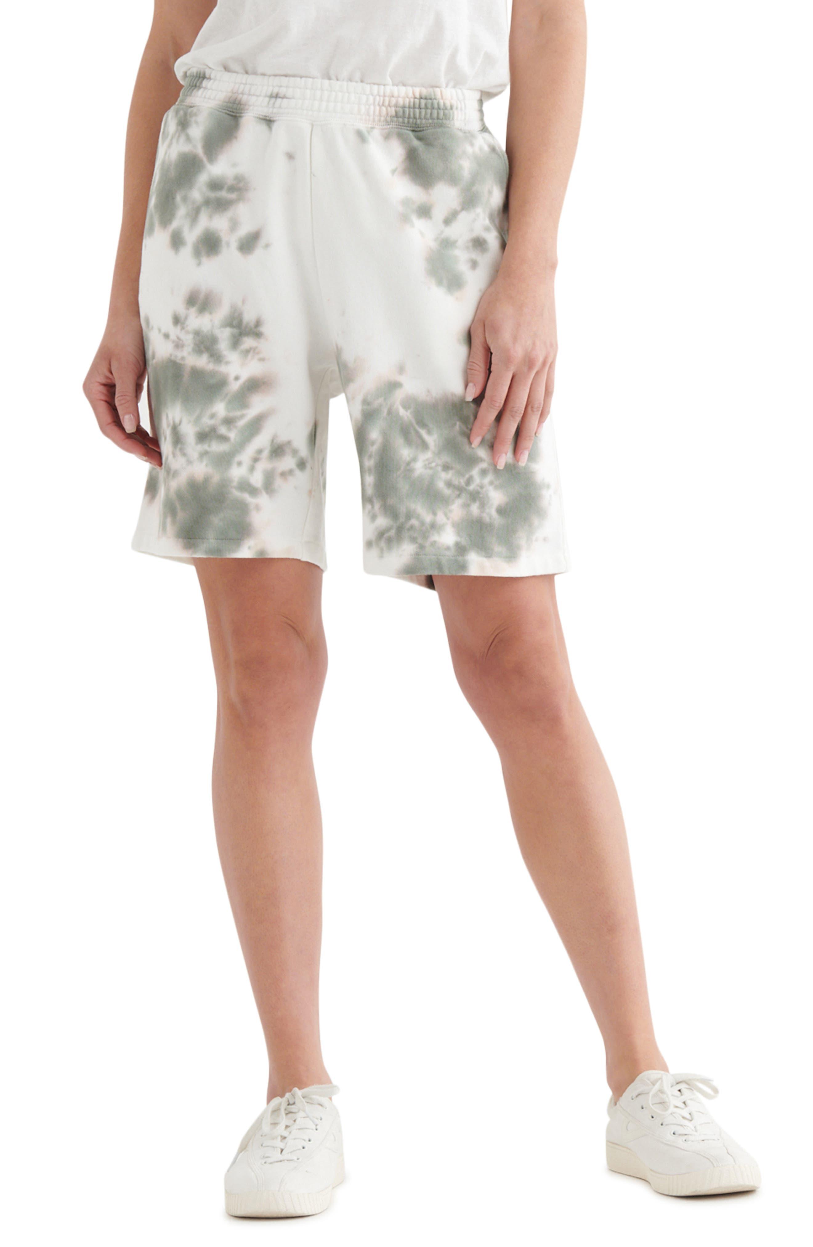 Relaxed Cotton Fleece Shorts