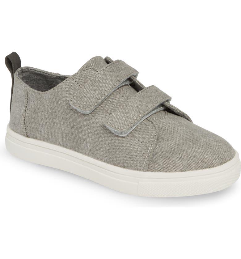 TUCKER + TATE Double Strap Sneaker, Main, color, GREY CANVAS