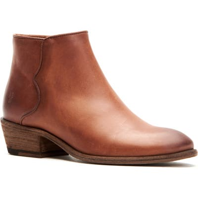 Frye Carson Piping Bootie, Brown