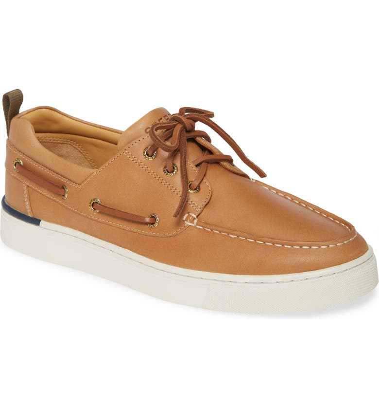 SPERRY Gold Cup Victura Boat Shoe, Main, color, TAN