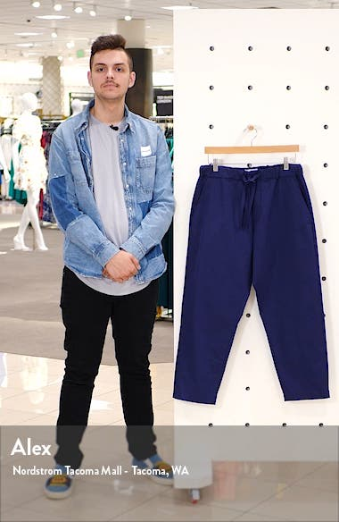 Kurt Relaxed Twill Crop Trousers, sales video thumbnail